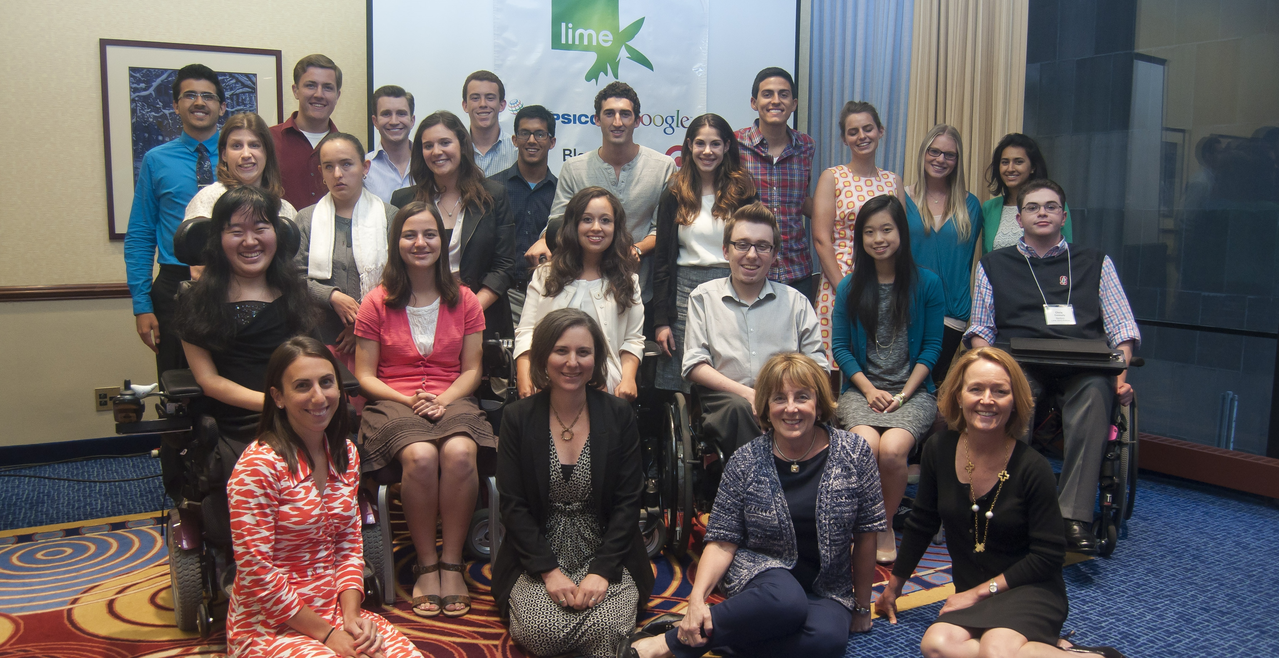 2013 Fellows and the Lime team